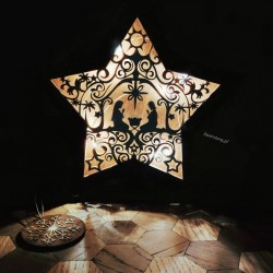 lampka stajenka